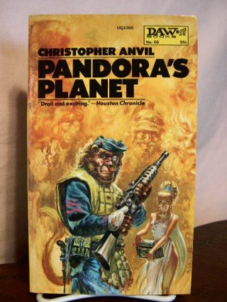 PANDORA'S PLANET. Christopher Anvil