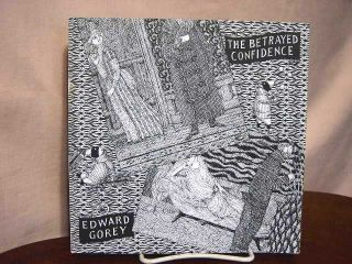 THE BETRAYED CONFIDENCE: SEVEN SERIES OF DOGEAR WRYDE POSTCARDS. Edward Gorey