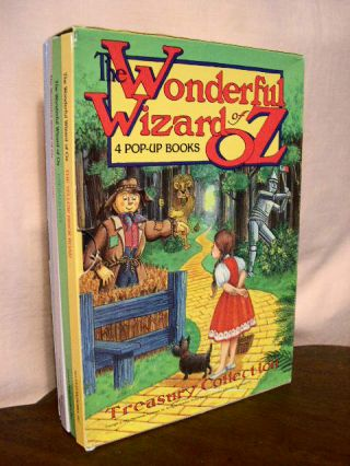 THE WONDERFUL WIZARD OF OZ: 4 POP-UP BOOKS. L. Frank Baum.