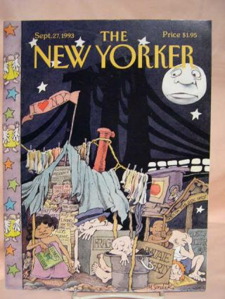 THE NEW YORKER; SEPTEMBER 27, 1993, VOLUME LXIX, NUMBER 31