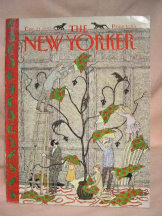 THE NEW YORKER; DECEMBER 21, 1992, VOLUME LXIX, NUMBER 31