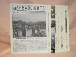 ERA HEADLIGHTS. VOLUME 12, NUMBERS 1-12, 1950, JANUARY-DECEMBER