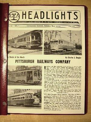 ERA HEADLIGHTS. VOLUME 13, NUMBERS 1-12, 1951, JANUARY-DECEMBER