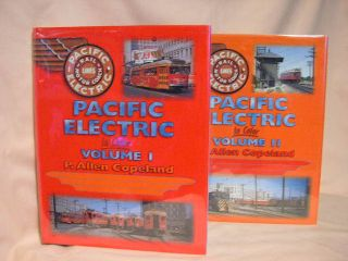 THE PACIFIC ELECTRIC RAILWAY IN COLOR: VOLUMES I & II [1 & 2]. P. Allen Copeland