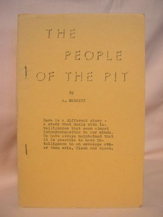 THE PEOPLE OF THE PIT. A. Merritt, Abraham
