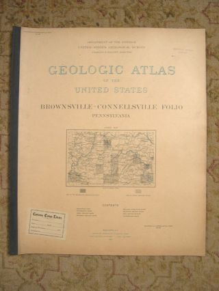 GEOLOGIC ATLAS OF THE UNITED STATES; DOVER FOLIO, DELAWARE-MARYLAND-NEW JERSEY; FOLIO 137. Marius...