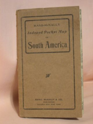 INDEXED POCKET MAP OF SOUTH AMERICA