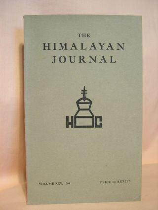 THE HIMALAYAN JOURNAL; RECORDS OF THE HIMALAYAN CLUB, VOL. XXV, 1964. Dr. K. Biswas