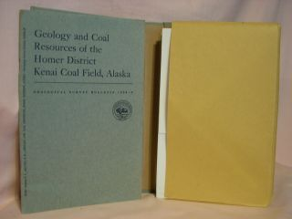 GEOLOGY AND COAL RESOURCES OF THE HOMER DISTRICT, KENAI COAL FIELD, ALASKA; GEOLOGICAL SURVEY...