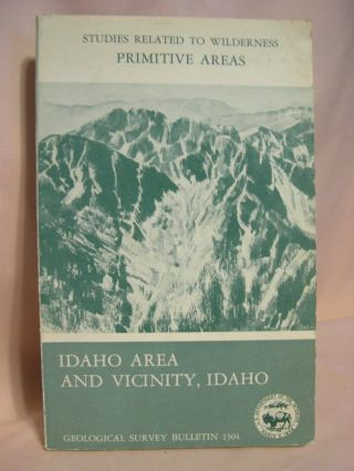 MINERAL RESOURCES OF THE IDAHO PRIMITIVE AREA AND VICINITY, IDAHO; a section on THUNDER MOUNTAIN...