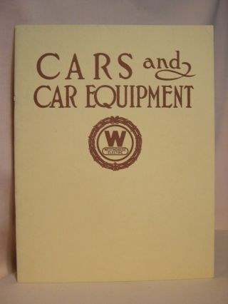 CARS AND CAR EQUIPMENT, VOLUME II: SPECIAL PUBLICATION 1714, OCTOBER 1924
