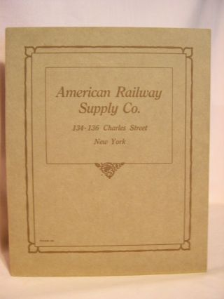 AMERICAN RAILWAY SUPPLY CO