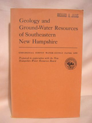 GEOLOGY AND GROUND-WATER RESOURCES OF SOUTHEASTERN NEW HAMPSHIRE: GEOLOGICAL SURVEY WATER-SUPPLY...