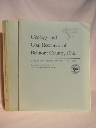 GEOLOGY AND COAL RESOURCES OF BELMONT COUNTY, OHIO; GEOLOGICAL SURVEY PROFESSIONAL PAPER 380....
