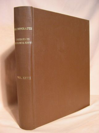 GEOLOGY OF THE DENVER BASIN IN COLORADO. MONOGRAPHS OF THE UNITED STATES GEOLOGICAL SURVEY,...