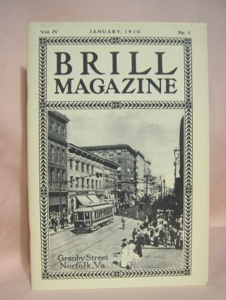 BRILL MAGAZINE; VOL. IV, NO. 1, JANUARY, 1910