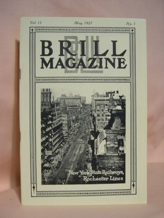 BRILL MAGAZINE; VOL. 13, NO. 1, MAY, 1927
