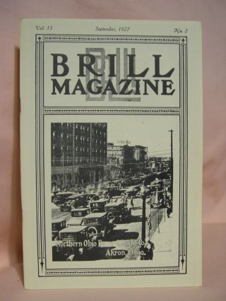BRILL MAGAZINE; VOL. 13, NO. 2, SEPTEMBER, 1927