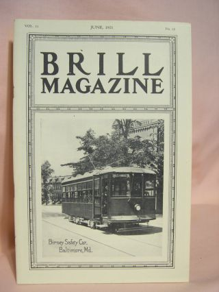 BRILL MAGAZINE; VOL. 11, NO. 12, JUNE, 1921