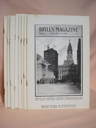 BRILL'S MAGAZINE; VOL. III, NOS. 1 THROUGH 7 and 9 THROUGH 11; JANUARY THROUGH JULY and SEPTEMBER...