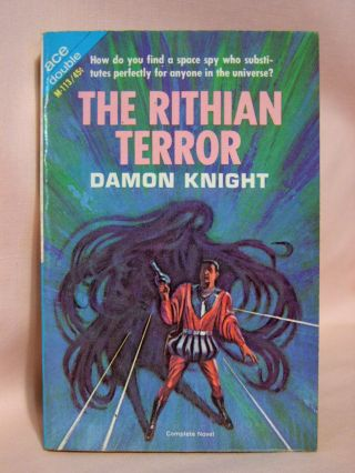 THE RITHIAN TERROR, bound with OFF CENTER. Damon Knight