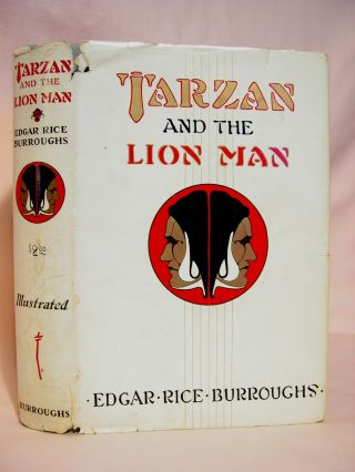 TARZAN AND THE LION MAN. Edgar Rice Burroughs