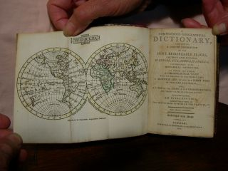 A COMPENDIOUS GEOGRAPHICAL DICTIONARY, CONTAINING, A CONCISE DESCRIPTION OF THE MOST REMARKABLE...
