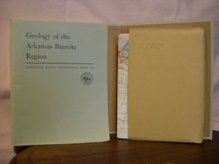 GEOLOGY OF THE ARKANSAS BAUXITE REGION; GEOLOGICAL SURVEY PROFESSIONAL PAPER 299. Mackenzie...