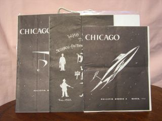 WORLD SCIENCE FICTION CONVENTION 10, CHICAGO; BULLETIN NUMBERS 2, 3, AND 4
