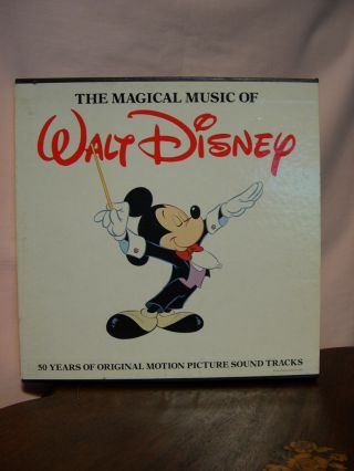 THE MAGICAL MUSIC OF WALT DISNEY. Dick Schory