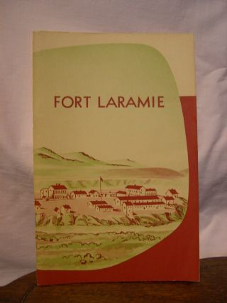 FORT LARAMIE NATIONAL MONUMENT, WYOMING; HANDBOOK SERIES NO. 20. David L. Hieb