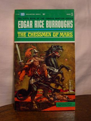 THE CHESSMEN OF MARS. Edgar Rice Burroughs.