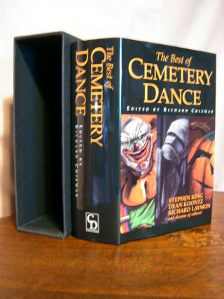 THE BEST OF CEMETERY DANCE. Richard Chizmar