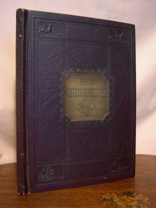 THE KINNIKINICK, 1926; VOLUME FOUR OF THE ANNUAL