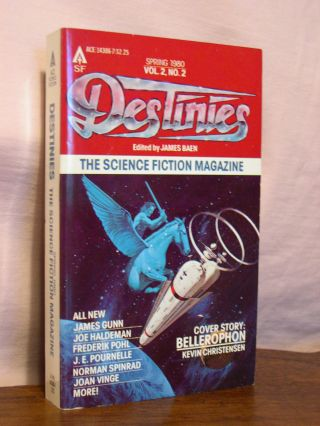DESTINIES; VOL. 2, NO. 2, SPRING 1980. James Baen
