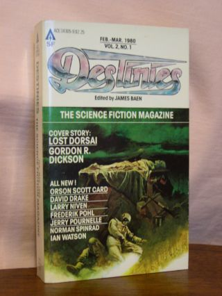 DESTINIES; VOL. 2, NO. 1, FEB.-MAR. 1980. James Baen