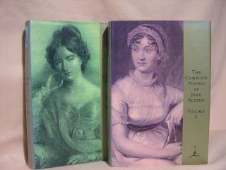 THE COMPLETE NOVELS OF JANE AUSTEN, VOLUMES I AND II. Jane Austen