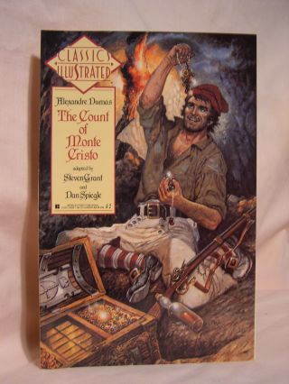 THE COUNT OF MONTE CRISTO. CLASSICS ILLUSTRATED NUMBER SEVEN. Alexandre Dumas