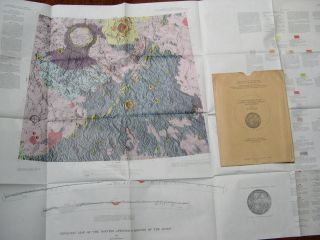 GEOLOGIC MAP OF THE MONTES APENNINUS REGION OF THE MOON; GEOLOGY OF THE MOON, MONTES APENNINUS...