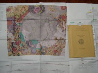 GEOLOGIC MAP OF THE MARE HUMORUM REGION OF THE MOON; GEOLOGY OF THE MOON, MARE HUMORUM REGION...