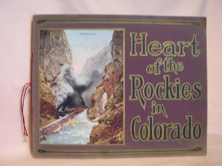 HEART OF THE ROCKIES IN ALL OF ITS GRANDEUR