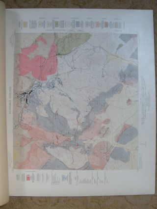 GEOLOGIC ATLAS OF THE UNITED STATES; BISBEE FOLIO, ARIZONA; FOLIO 112