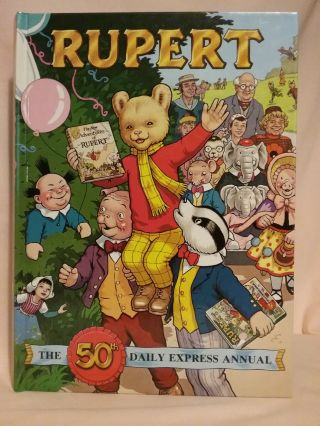 RUPERT: THE 50th DAILY EXPRESS ANNUAL [1985