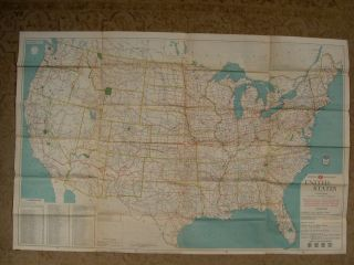 AAA OFFICIAL ROAD MAP, UNITED STATES [1928]