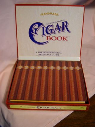 THE CONSUMMATE CIGAR BOOK: A THREE-DIMENSIONAL REFERENCE GUIDE. Robert Kemp