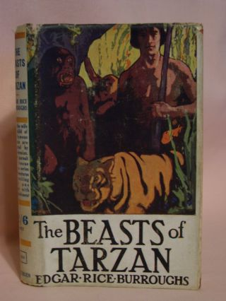 THE BEASTS OF TARZAN. Edgar Rice Burroughs