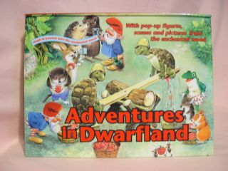 ADVENTURES IN DWARFLAND POP-UP BOOK
