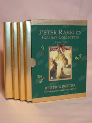 PETER RABBIT'S HOLIDAY COLLECTION: DELUX GIFT SET. Beatrix Potter