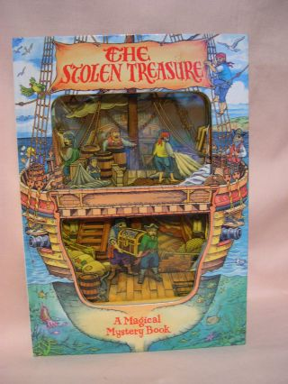 THE STOLEN TREASURE: A MAGICAL MYSTERY BOOK. Stewart Cowley
