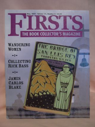 FIRSTS: COLLECTING MODERN FIRST EDITIONS; THE BOOK COLLECTOR'S MAGAZINE; OCTOBER, 2001 VOLUME...